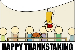 happy thankstaking