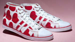 heart shoes hi tops